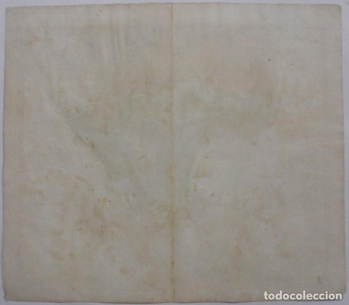 Arte: Gan mapa a color de África, 1737. J. B. Homann y Herederos - Foto 5 - 222477442