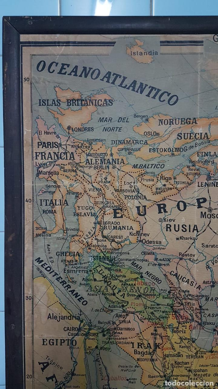 Arte: Mapa atlas doble Asia y Africa - Foto 3 - 222789270