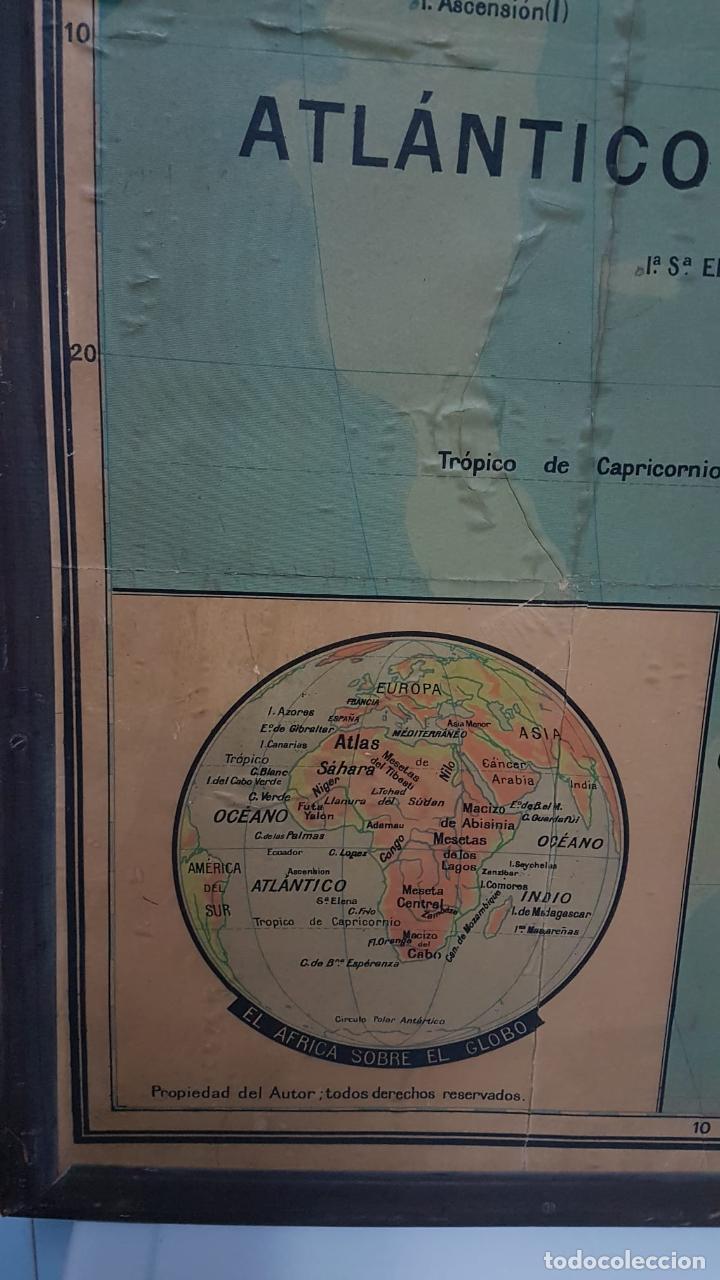 Arte: Mapa atlas doble Asia y Africa - Foto 9 - 222789270
