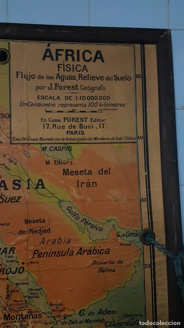 Arte: Mapa atlas doble Asia y Africa - Foto 10 - 222789270