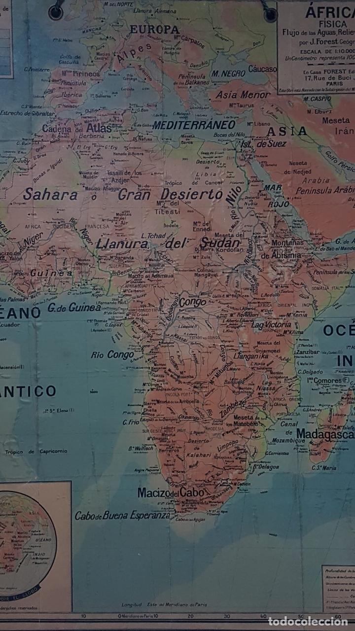 Arte: Mapa atlas doble Asia y Africa - Foto 11 - 222789270