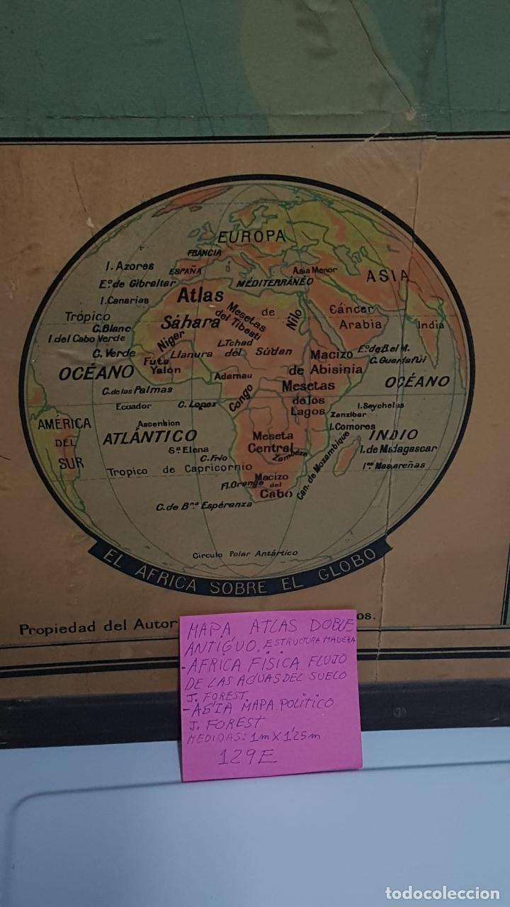 Arte: Mapa atlas doble Asia y Africa - Foto 13 - 222789270