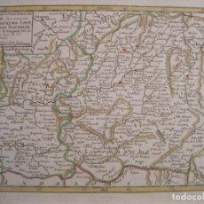 Arte: MAPA DEL ANTIGUO REINO DE CASTILLA A COLOR (ESPAÑA), 1748. VAUGONDY. Lote 222988518