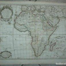 Arte: GRAN MAPA DE ÁFRICA, 1797. DELISLE/DEZAUCHE. Lote 223091801