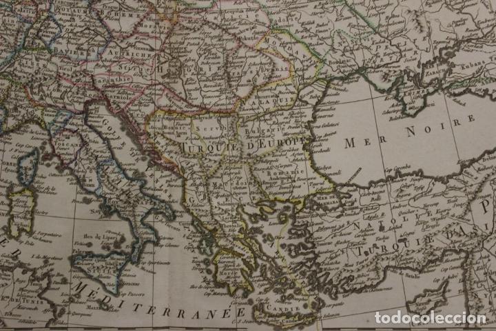 Arte: Gran mapa de Europa, 1821. Delisle/Buache/Dezauche - Foto 4 - 223142768