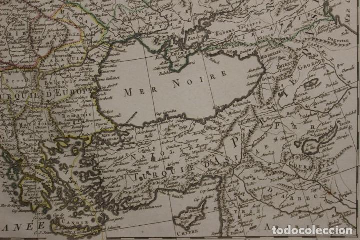 Arte: Gran mapa de Europa, 1821. Delisle/Buache/Dezauche - Foto 5 - 223142768