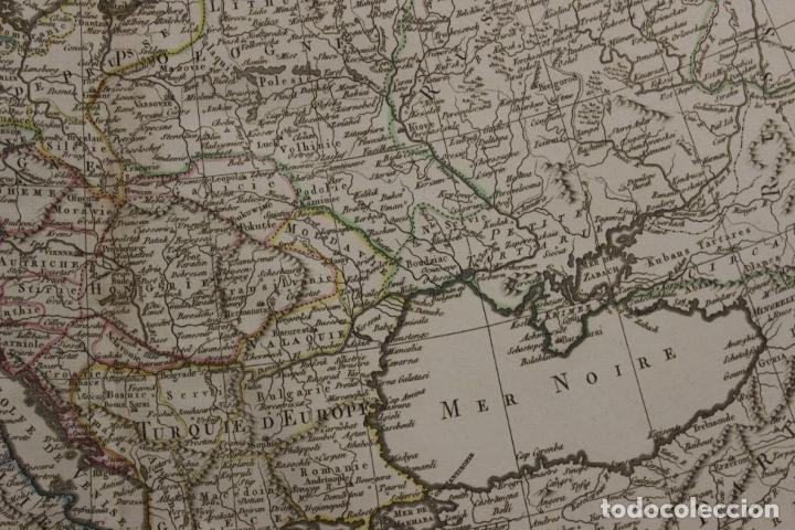 Arte: Gran mapa de Europa, 1821. Delisle/Buache/Dezauche - Foto 7 - 223142768