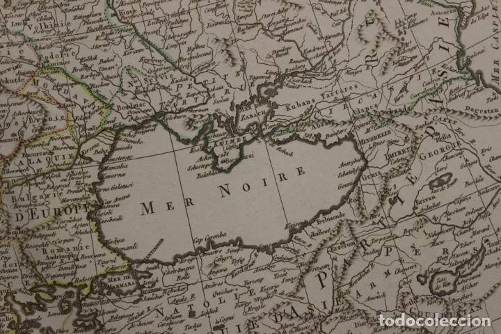 Arte: Gran mapa de Europa, 1821. Delisle/Buache/Dezauche - Foto 8 - 223142768