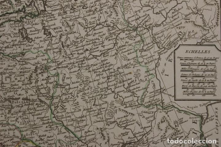 Arte: Gran mapa de Europa, 1821. Delisle/Buache/Dezauche - Foto 9 - 223142768