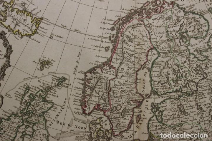 Arte: Gran mapa de Europa, 1821. Delisle/Buache/Dezauche - Foto 12 - 223142768