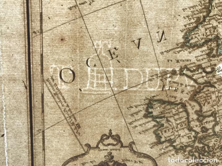 Arte: Gran mapa de Europa, 1821. Delisle/Buache/Dezauche - Foto 18 - 223142768