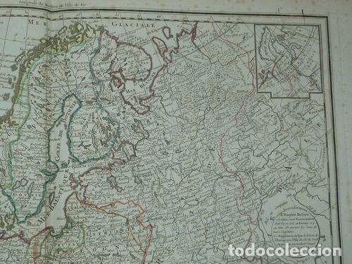 Arte: Gran mapa de Europa, 1789. Delisle/Buache/Dezauche - Foto 4 - 223228585