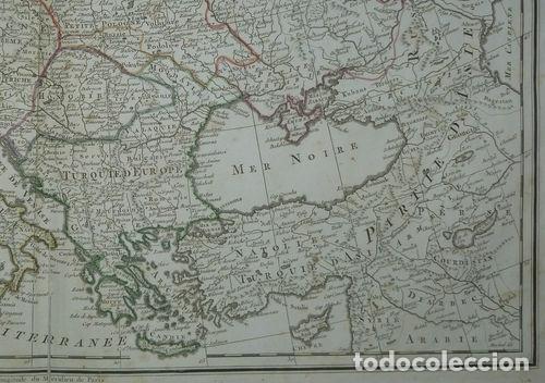 Arte: Gran mapa de Europa, 1789. Delisle/Buache/Dezauche - Foto 6 - 223228585