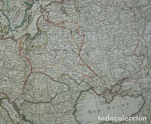 Arte: Gran mapa de Europa, 1789. Delisle/Buache/Dezauche - Foto 7 - 223228585