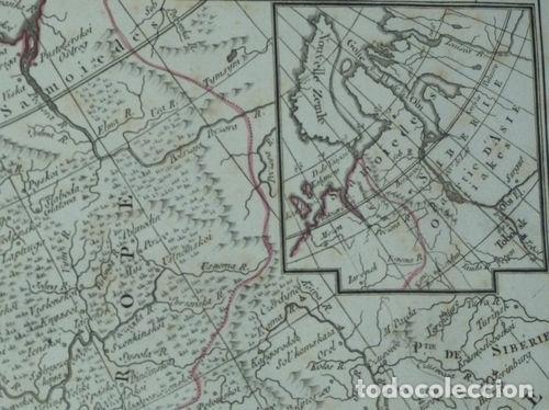 Arte: Gran mapa de Europa, 1789. Delisle/Buache/Dezauche - Foto 9 - 223228585