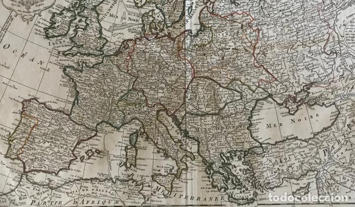 Arte: Gran mapa de Europa, 1789. Delisle/Buache/Dezauche - Foto 13 - 223228585
