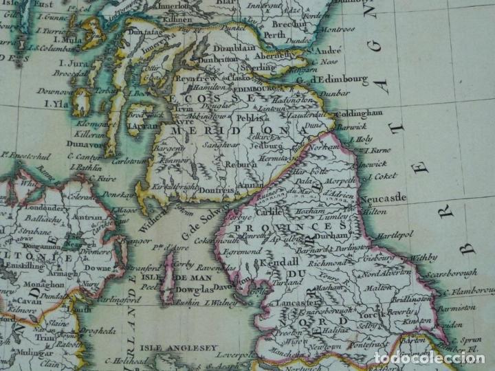 Arte: Gran mapa de las islas de Irlanda y Reino Unido, 1771. Janvier/Lattre - Foto 5 - 224386266
