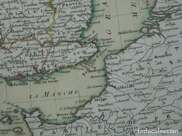 Arte: Gran mapa de las islas de Irlanda y Reino Unido, 1771. Janvier/Lattre - Foto 10 - 224386266