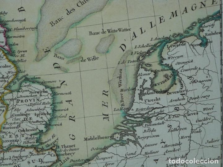 Arte: Gran mapa de las islas de Irlanda y Reino Unido, 1771. Janvier/Lattre - Foto 12 - 224386266