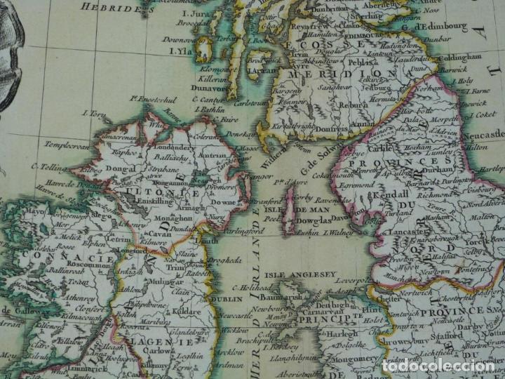 Arte: Gran mapa de las islas de Irlanda y Reino Unido, 1771. Janvier/Lattre - Foto 13 - 224386266