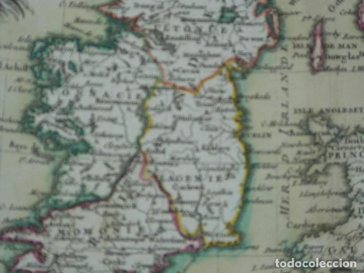 Arte: Gran mapa de las islas de Irlanda y Reino Unido, 1771. Janvier/Lattre - Foto 14 - 224386266
