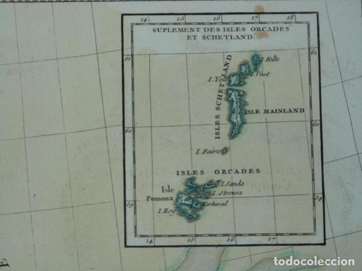 Arte: Gran mapa de las islas de Irlanda y Reino Unido, 1771. Janvier/Lattre - Foto 16 - 224386266