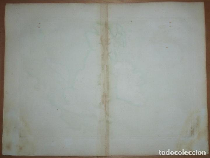 Arte: Gran mapa de las islas de Irlanda y Reino Unido, 1771. Janvier/Lattre - Foto 17 - 224386266