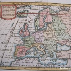 Arte: MAPA DE EUROPA, 1752. BUFFIER. Lote 224421662