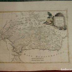 Arte: MAPA DE ANDALUCÍA (ESPAÑA), 1778. ANTONIO ZATTA. Lote 224492955