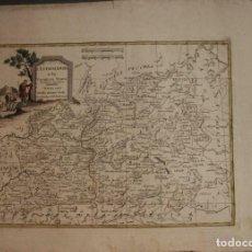 Arte: MAPA DE CASTILLA Y EXTREMADURA, 1776. ANTONIO ZATTA. Lote 224497217