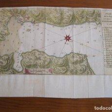 Arte: MAPA DE LA BAHÍA Y PUERTO DE PORTOBELO (PANAMÁ), 1756. PREVOST /BELLIN. Lote 224755531
