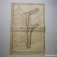 Arte: MAPA ANTIGUO SIGLO XVIII SULAWESI CELEBES INDONESIA 1795 D. WOODARD. Lote 225153665