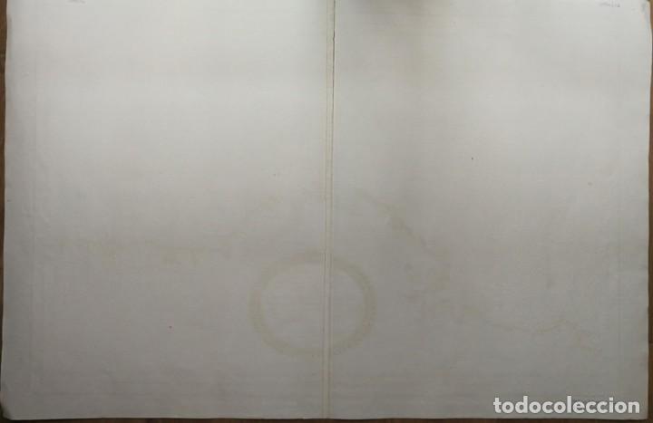 Arte: Carta nautica antigua siglo XVIII 1789 Carta esferica Galicia Buelganegra Catasol Tofiño - Foto 12 - 225244920