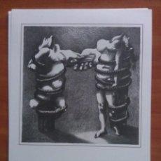 Arte: REFRANES Y AFORISMOS SOBRE EL DOLOR - DIBUJO DE PLA - NARBONA. Lote 225533060