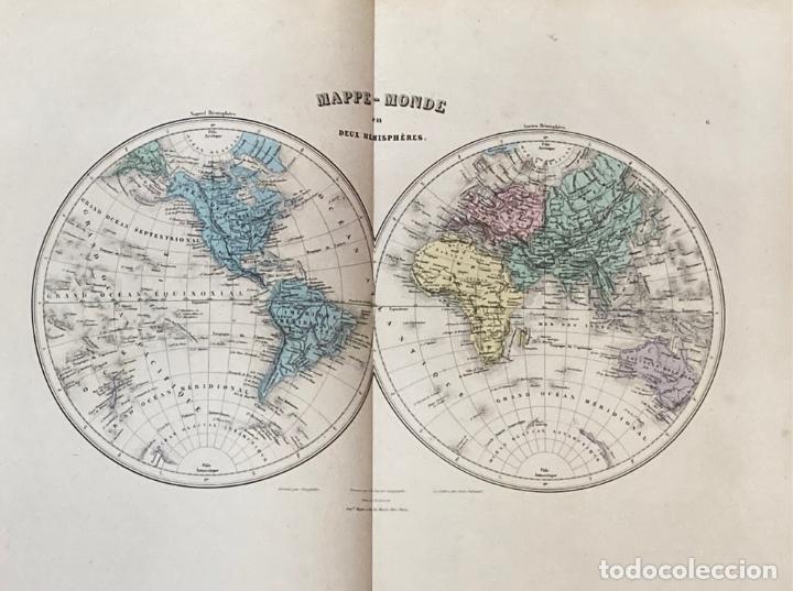 Arte: AÑO 1883 - ATLAS MIGEON GEOGRAPHIE UNIVERSELLE 43 MAPAS CON GRABADOS - CARTOGRAFÍA - Foto 3 - 225607760
