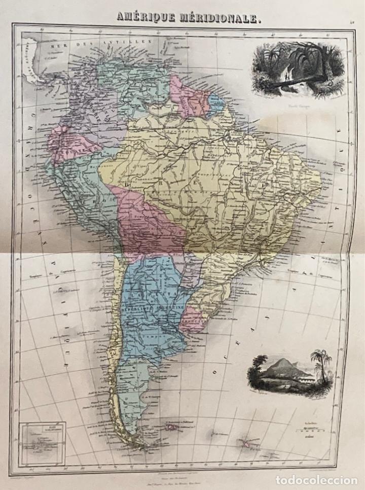 Arte: AÑO 1883 - ATLAS MIGEON GEOGRAPHIE UNIVERSELLE 43 MAPAS CON GRABADOS - CARTOGRAFÍA - Foto 11 - 225607760