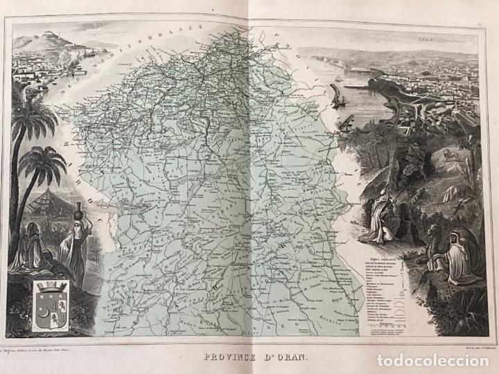 Arte: AÑO 1883 - ATLAS MIGEON GEOGRAPHIE UNIVERSELLE 43 MAPAS CON GRABADOS - CARTOGRAFÍA - Foto 13 - 225607760