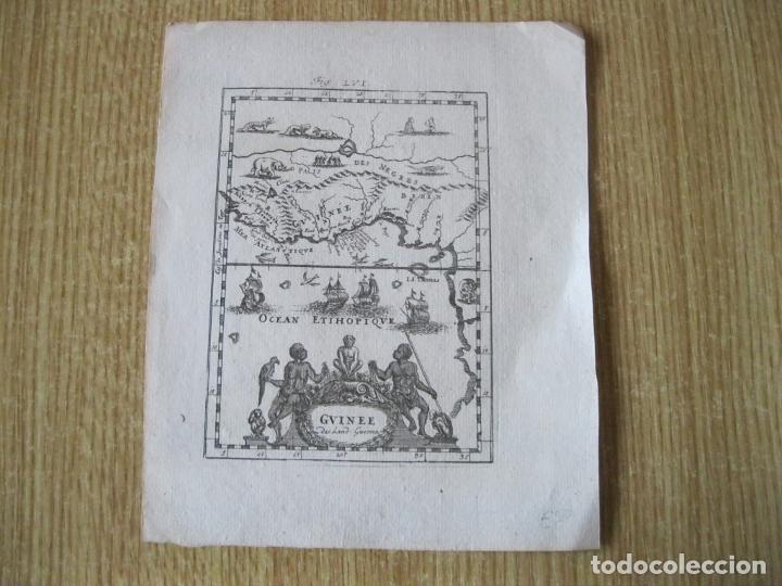 Arte: Mapa de África occidental y golfo de Guinea, 1750. Mallet - Foto 2 - 225863975