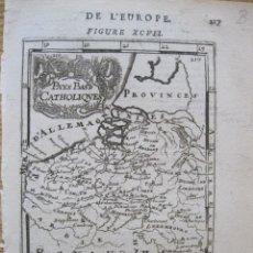 Arte: MAPA DE LOS PAÍSES BAJOS (EUROPA), 1775. MALLET. Lote 226113317