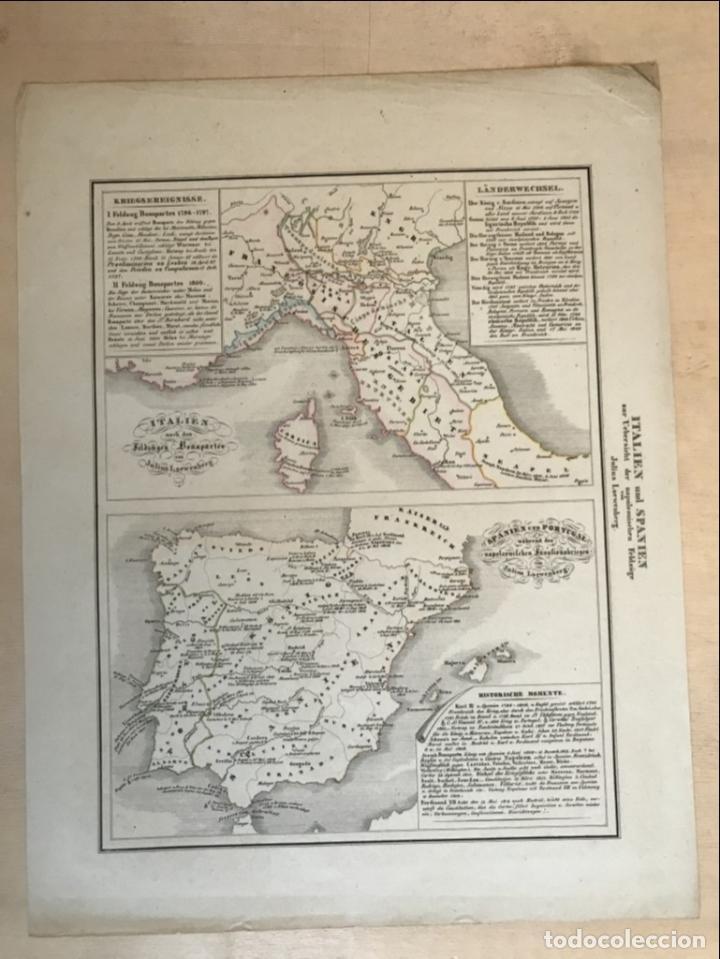Arte: España, Portugal y norte de Italia en época de Napoleón, hacia 1850. Anónimo - Foto 2 - 227841035