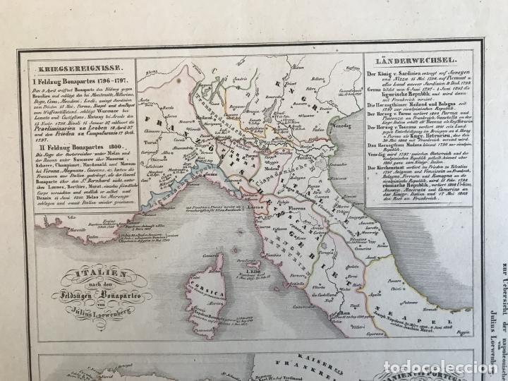 Arte: España, Portugal y norte de Italia en época de Napoleón, hacia 1850. Anónimo - Foto 4 - 227841035
