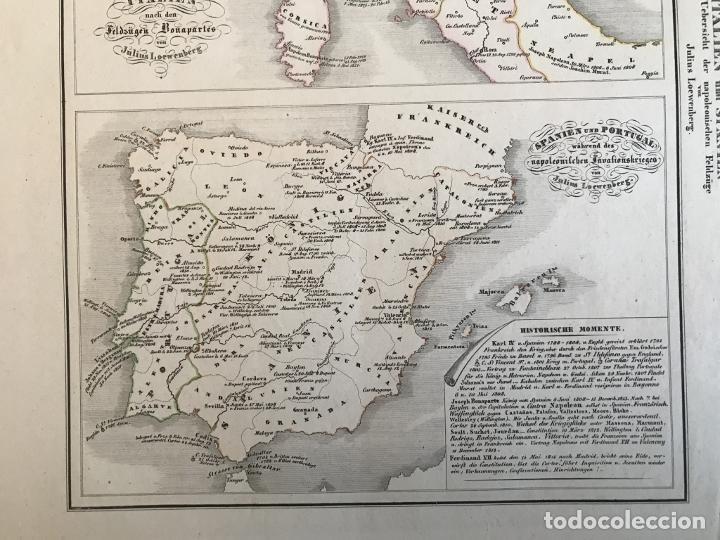 Arte: España, Portugal y norte de Italia en época de Napoleón, hacia 1850. Anónimo - Foto 5 - 227841035