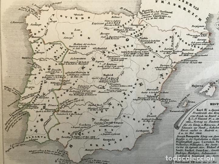 Arte: España, Portugal y norte de Italia en época de Napoleón, hacia 1850. Anónimo - Foto 7 - 227841035