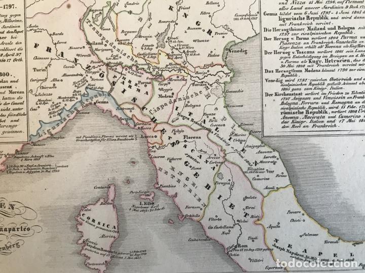 Arte: España, Portugal y norte de Italia en época de Napoleón, hacia 1850. Anónimo - Foto 10 - 227841035