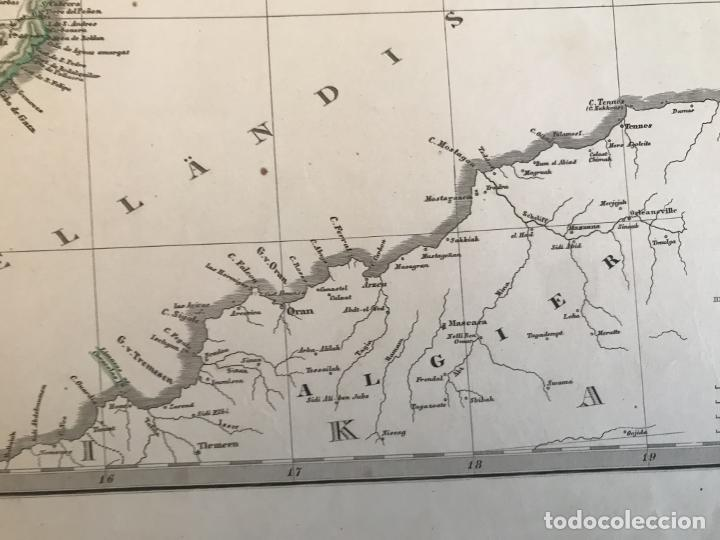 Arte: Gran mapa de España y Portugal en 4 hojas independientes, 1867. Stülpagel/Stieler/Perthes - Foto 40 - 227845095
