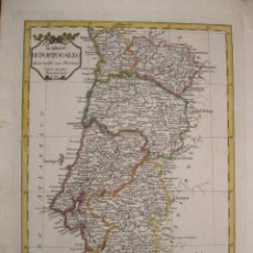 Arte: MAPA DE PORTUGAL, 1788. PAZZINI CARLI. Lote 229158868