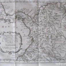 Arte: MAPA DE PANAMÁ, COLOMBIA, VENEZUELA, 1746. BELLIN / ANVILLE/ PREVOST. Lote 229975010
