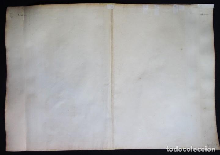 Arte: Cataluña, Aragón, Navarra Robert de Vaugondy, 1756, Etats de la Couronne d Aragon - Foto 8 - 230196140