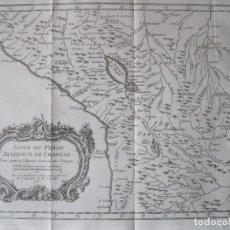 Arte: MAPA DE PERÚ, 1770. BELLIN/PREVOST. Lote 230293790