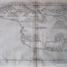 Arte: ANTIGUO MAPA DE BRASIL (AMÉRICA DEL SUR), 1574. PTOLOMEO/RUSCELLI. Lote 230294000